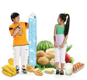 Chế độ ăn uống tập luyện cho bé để tăng chiều cao
