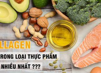 Collagen có trong thực phẩm nào?