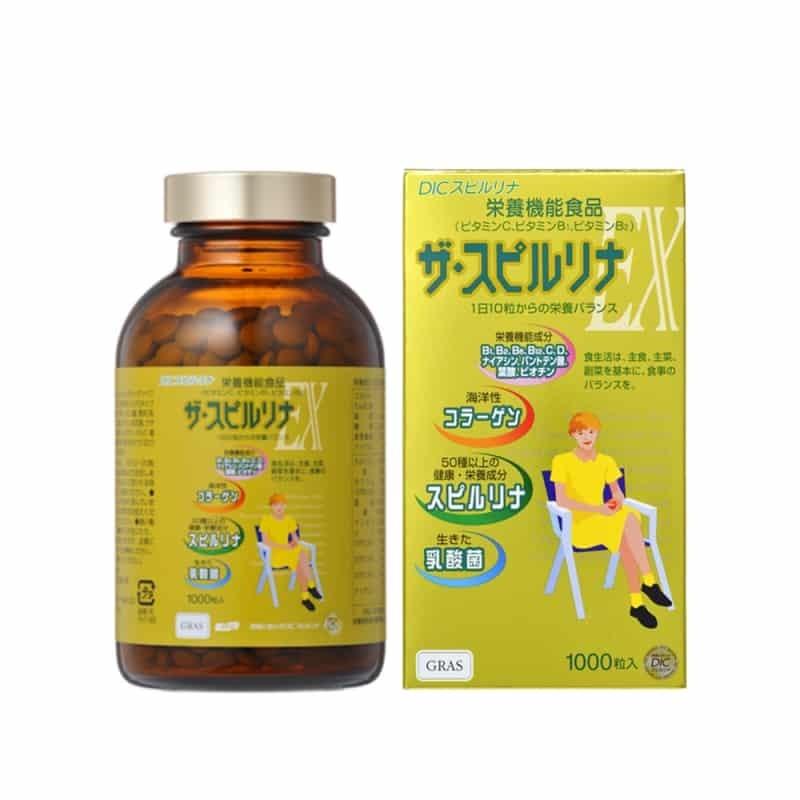 Mua tảo vàng Nhật Bản chính hãng tại Chiaki.vn