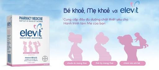 Bổ sung elevit trước khi mang thai