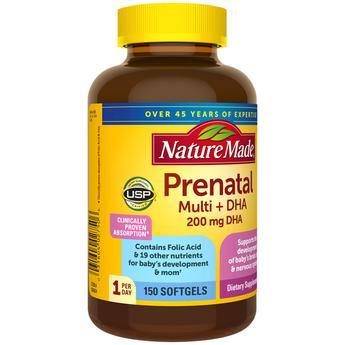 Prenatal Multi + DHA của Mỹ - Vitamin tổng hợp cho bà bầu