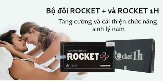 Nên sử dụng Rocket 1h với liều lượng 1 viên/ lần