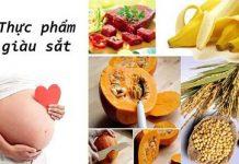 Bà bầu thiếu sắt nên ăn gì để bổ sung tốt nhất?