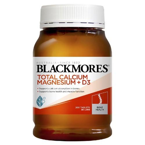 Viên uống Calcium & Magnesium + D3 Blackmores